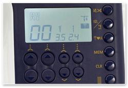 Juki HZL-G220 Display