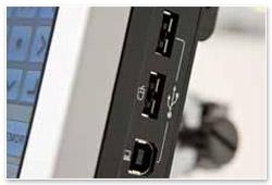Brother PR 1000e USB-Anschluss