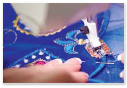 Husqvarna Viking Designer Diamond Royale Deluxe Stitch System