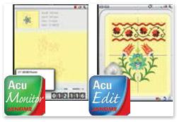 Janome Horizon MC 15000 Version 2 AcuMonitor App AcuEdit App