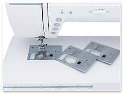 Janome 9400 QCP Stichplattenwechsel