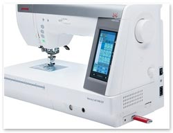 Janome 9400 QCP USB Anschluss