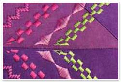 Pfaff creative 4.5 mit Standard-Stickmodul Zierstiche