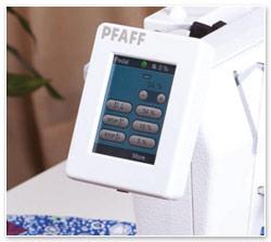 Pfaff Powerquilter 16.0 Display