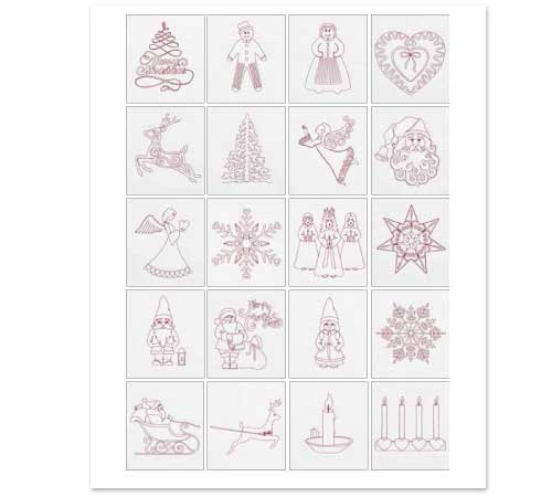 Pfaff_Stickmotive_holiday_line_art