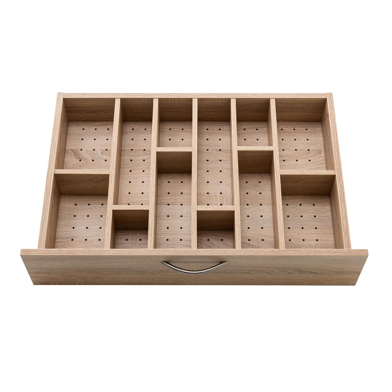 Der zusätzliche PIN-Boden mit Einteilung ist eine Ergänzung, die für bessere Sortierungsmöglichkeiten sorgt.
