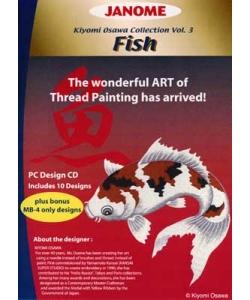 JANOME Stickmuster CD Fish Vol. 3 Kiyomi Osawa Collection