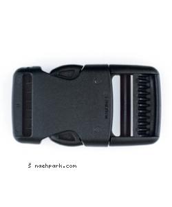 PRYM Steckschnalle zum klicken schwarz 30mm