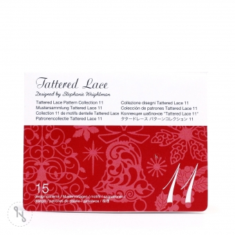 BROTHER Tattered Lace Pattern Collection 11 - 15 Designs
