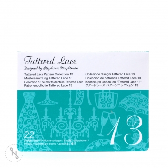 BROTHER Tattered Lace Pattern Collection 13 - 22 Designs