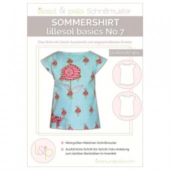 LILLESOL Basics Papierschnittmuster No.7 Sommershirt