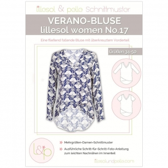 LILLESOL Women Papierschnittmuster No.17 Verano-Bluse