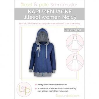 LILLESOL Women Papierschnittmuster No.15 Kapuzenjacke