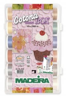 MADEIRA Smart Box Cotona No.50 1000m x 18 Spulen