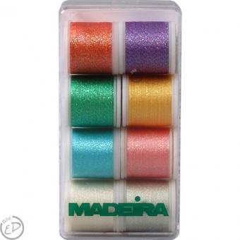 MADEIRA Stickbox Metallic Supertwist 8 x 200m