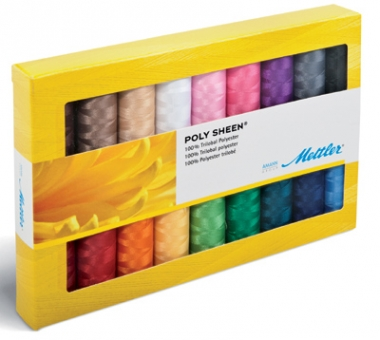 METTLER Polysheen Farbkit 18 Farben 200m