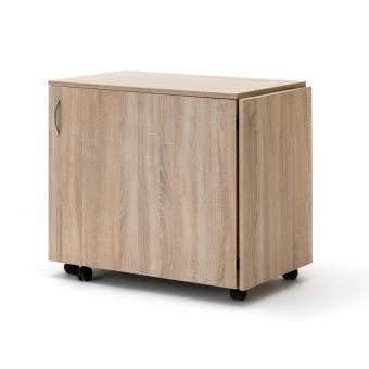 RMF Nähmöbel BASE mit Falttür rechts und Auflageplatte