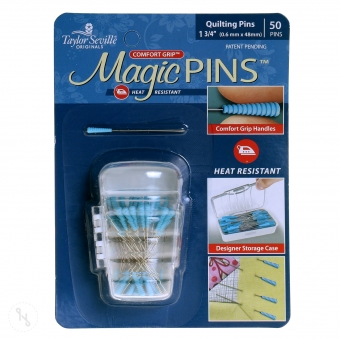 TAYLOR SEVILLE Magic Pins- Stecknadeln mit Grip