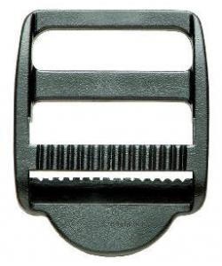 Klemm - Leitschnalle schwarz 40mm