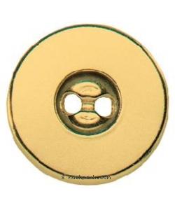 Magnet-Verschluß zum Annähen 19mm gold