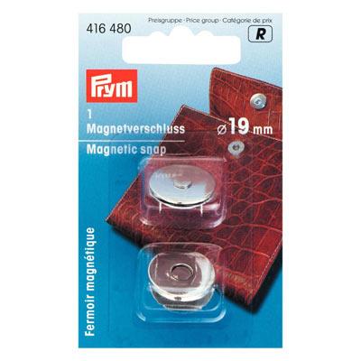 PRYM Magnetverschluß 19mm silber