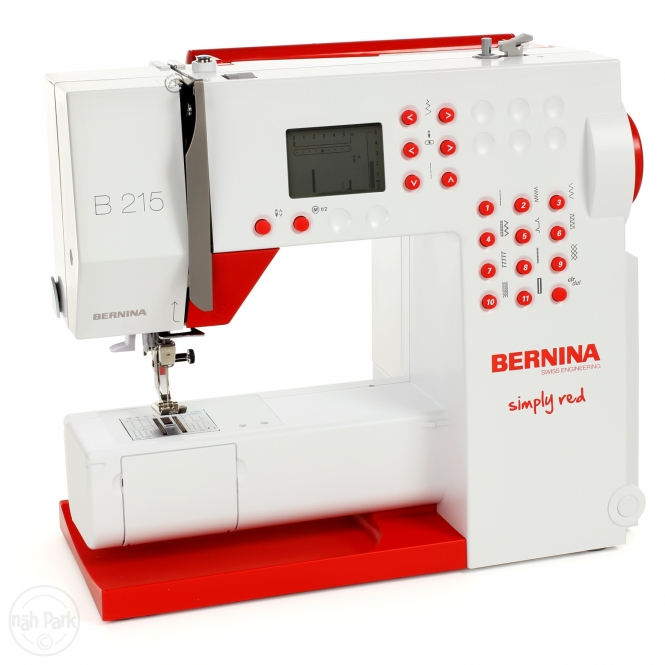 """BERNINA 215 Special Edition """"Simply Red"""""""