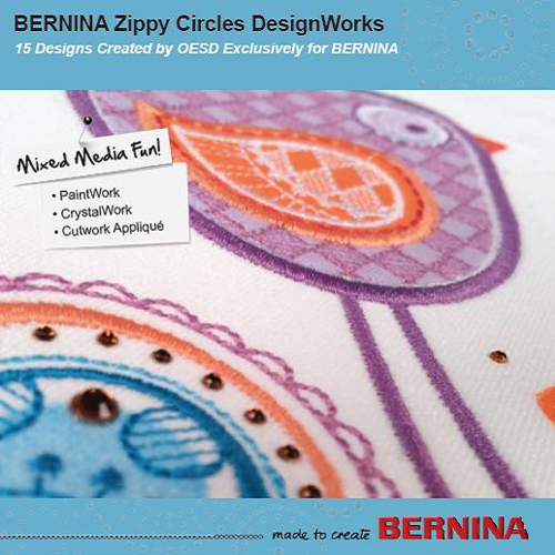Bernina DesignWorks CD Zippy Circles