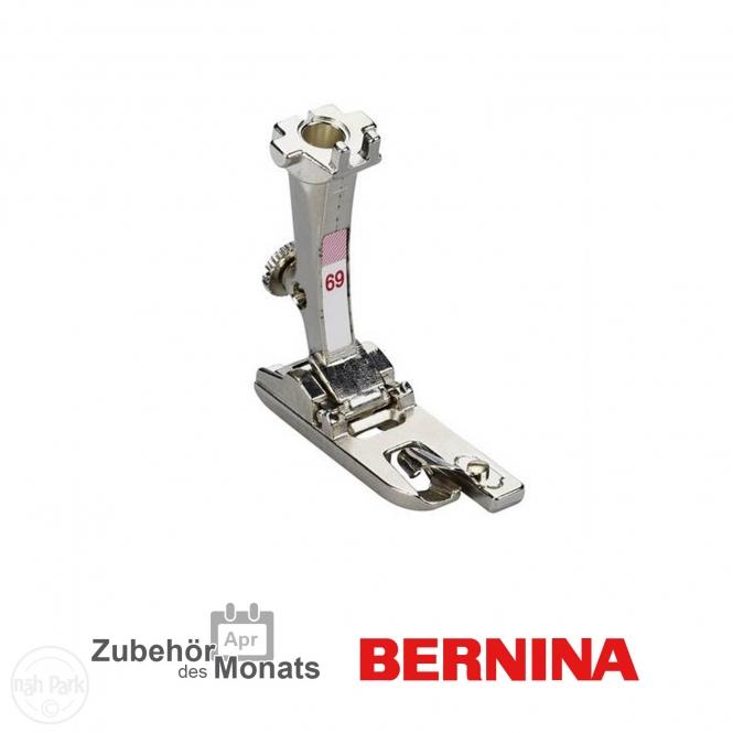 Bernina Muschel- Tricotsäumer 4 mm Nr. 69