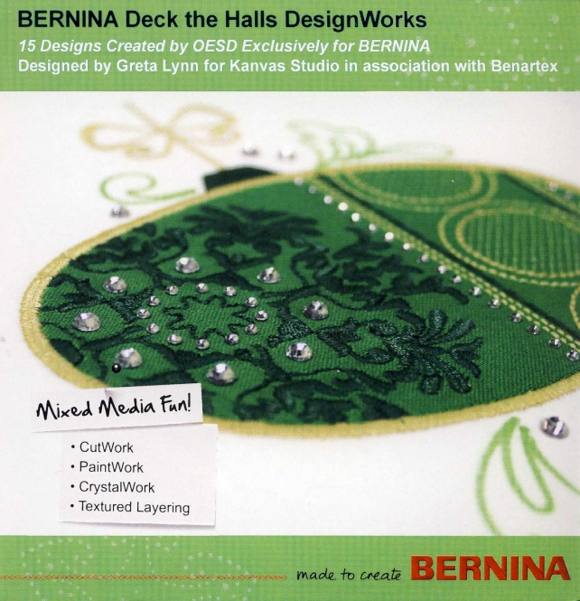 BERNINA DesignWorks CD Deck the Halls