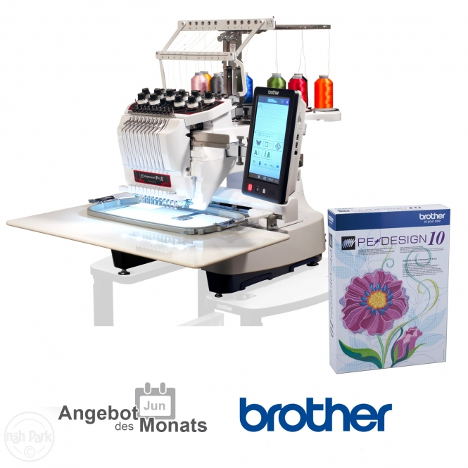 BROTHER PR 1050X Ausstellungsmaschine