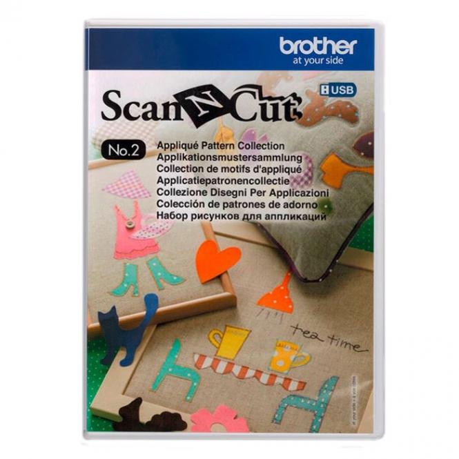 Brother ScanNCut Designs Nr. 2