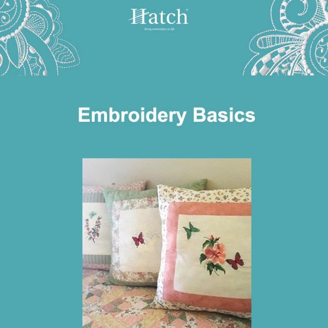 Hatch Embroidery Basics