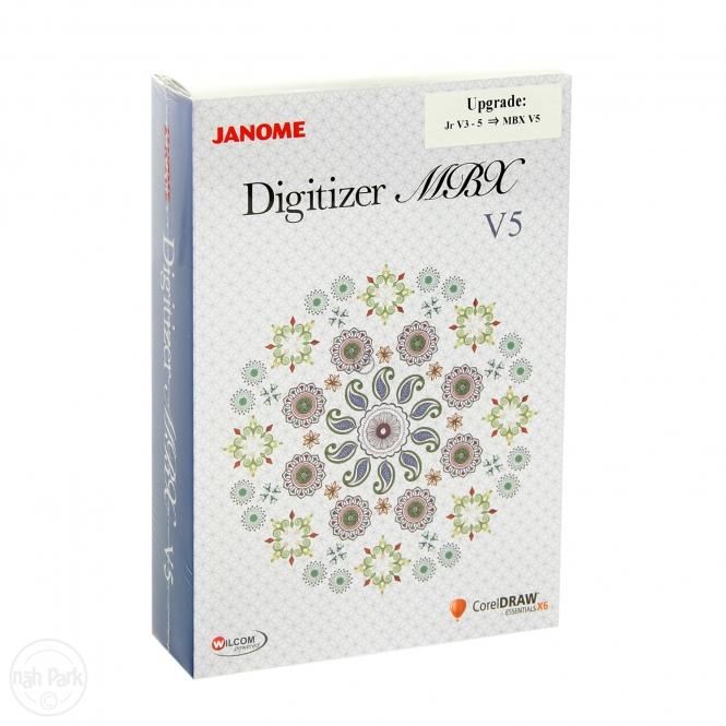 Janome Upgrade Digitizer MBX V5.0