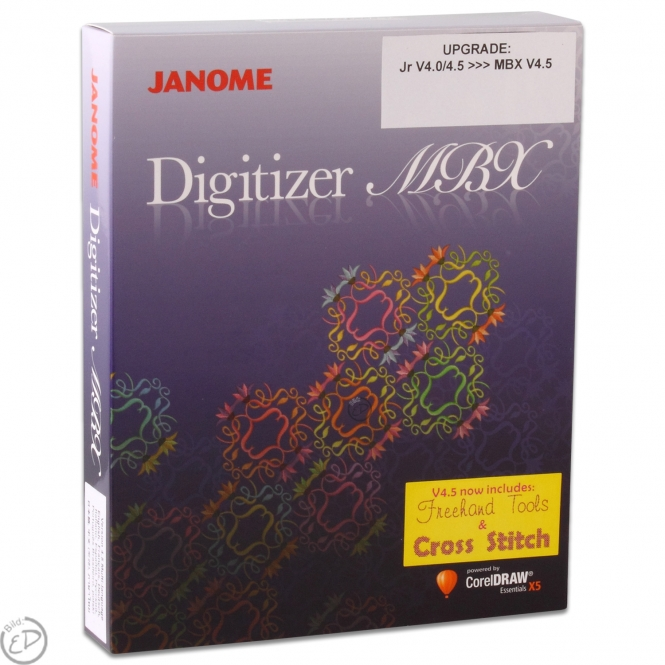 Janome Upgrade Digitizer Junior V4 auf Digitizer V4.5 MBX