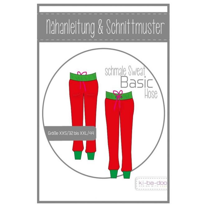 KI-BA-DOO Papierschnittmuster Basic Hose Damen im nähPark kaufen