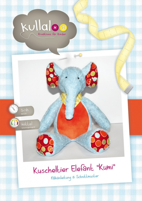 "Kullaloo Kuscheltier Elefant ""Kumi"""