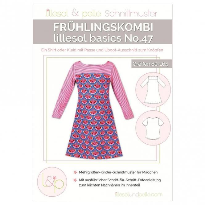 Lillesol basic Papierschnittmuster No.47 Frühlingskombi