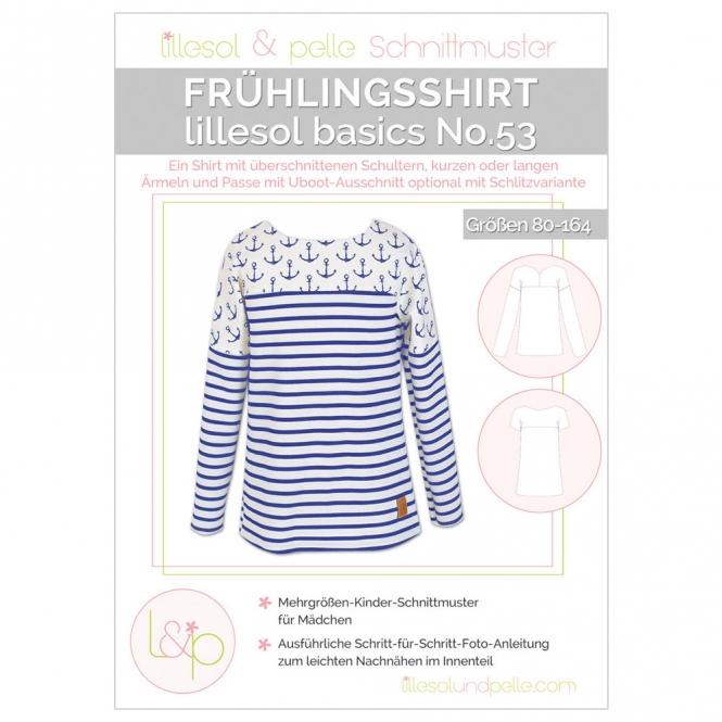 LILLESOL Basics Papierschnittmuster No.53 Frühlingsshirt