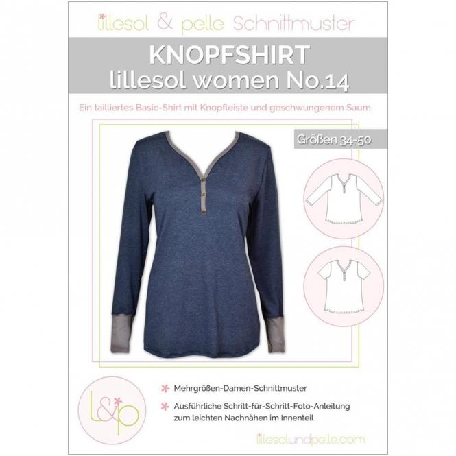 Lillesol Women Papierschnittmuster No.14 Knopfshirt
