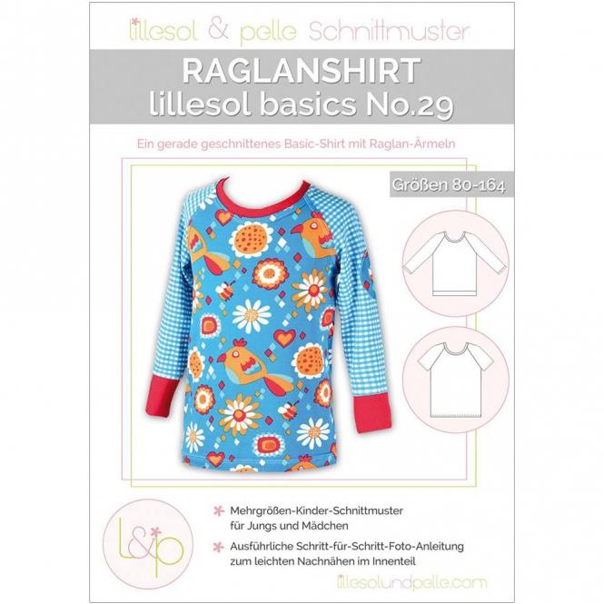 Lillesol Basics Papierschnittmuster No.29 Raglan-Shirt