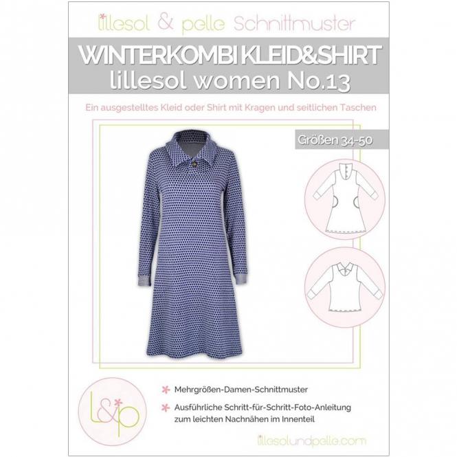 Lillesol Women Papierschnittmuster No.13 Winterkombi