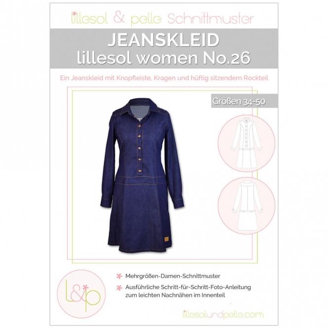 LILLESOL Women Papierschnittmuster No.26 Jeanskleid