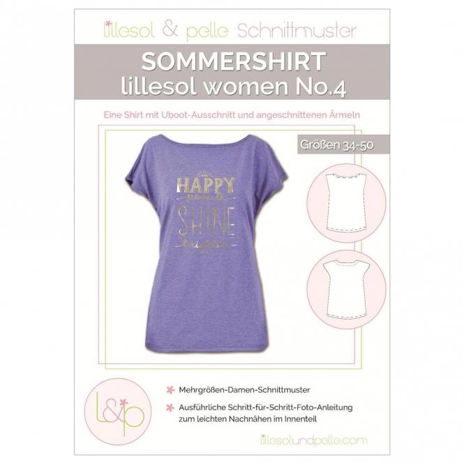 Lillesol Women Papierschnittmuster No.4 Sommershirt