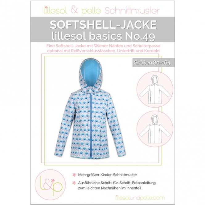 LILLESOL Basics Papierschnittmuster No.49 Softshelljacke