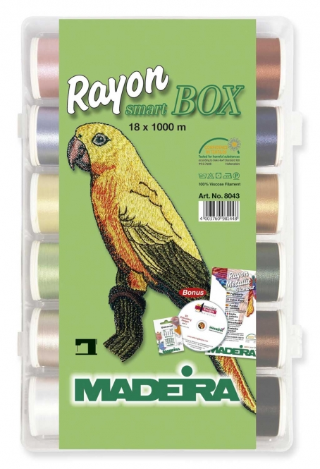 Madeira Smart Box Rayon No. 40