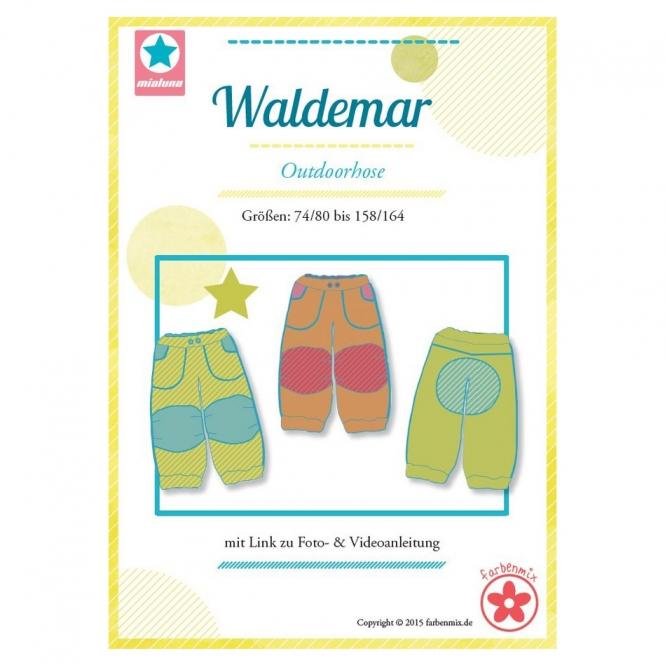Mialuna Papierschnittmuster Outdoorhose Waldemar