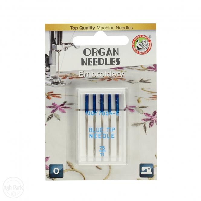 ORGAN Blue Tip Nadeln St. 75 5er Packung