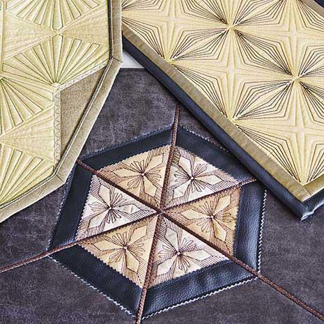 Pfaff Multiformat CD 481 Geometric Quilt Blocks
