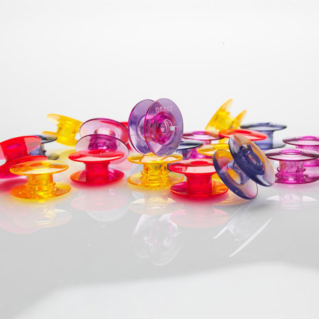 Pfaff Spulen horizontal Wasserfarben 20er Pack