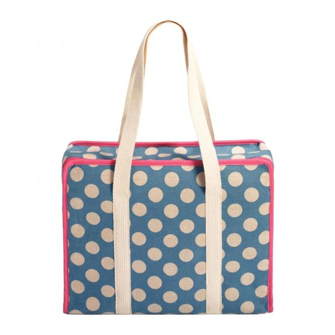 Prym All-in-One Tasche Large Dots Leinen L
